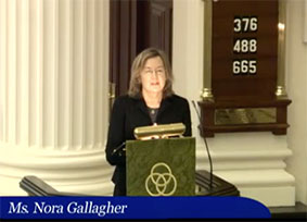 Nora Gallagher preaches the 11:15 a.m. service Feb 9 at St. James's in Richmond, VA